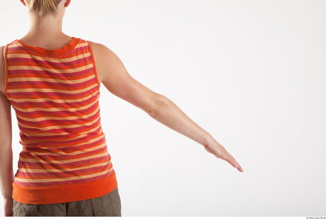 Arm Woman Animation references White Casual Pregnant Top