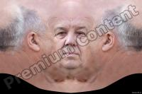 White old man premade head texture 0001
