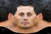 Young man head premade texture 0009