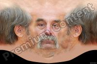 Old man head premade texture 0008