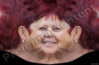 Old woman head premade texture 0008