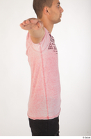 Colin clothing pink t shirt upper body 0007.jpg