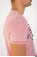 Colin clothing pink t shirt upper body 0010.jpg