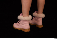 Cayla Lyons foot pink winter shoes 0004.jpg