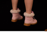 Cayla Lyons foot pink winter shoes 0006.jpg