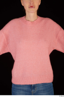 Shenika pink sweater upper body 0001.jpg