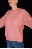 Shenika pink sweater upper body 0002.jpg