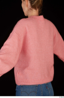 Shenika pink sweater upper body 0005.jpg