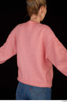 Shenika pink sweater upper body 0007.jpg