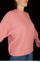 Shenika pink sweater upper body 0010.jpg