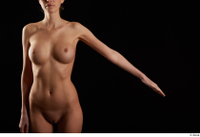Shenika  1 arm flexing frontview nude 0002.jpg