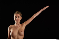Shenika  1 arm flexing frontview nude 0004.jpg