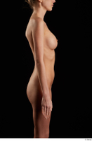 Shenika  1 arm flexing nude sideview 0001.jpg