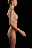Shenika  1 arm flexing nude sideview 0002.jpg