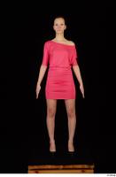 Kyoko clothing pink dress standing whole body 0001.jpg