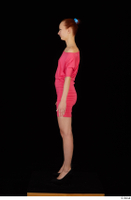 Kyoko clothing pink dress standing whole body 0003.jpg