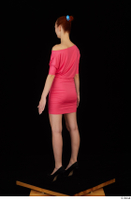 Kyoko clothing pink dress standing whole body 0004.jpg