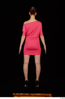 Kyoko clothing pink dress standing whole body 0005.jpg
