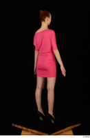 Kyoko clothing pink dress standing whole body 0006.jpg