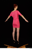 Kyoko clothing pink dress standing whole body 0014.jpg