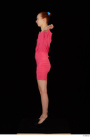Kyoko clothing pink dress standing whole body 0019.jpg