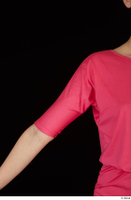 Kyoko clothing pink dress standing whole body 0026.jpg