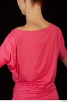 Kyoko clothing pink dress standing whole body 0031.jpg