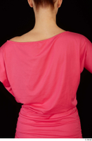 Kyoko clothing pink dress standing whole body 0032.jpg