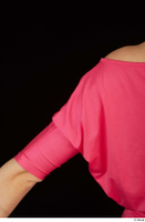 Kyoko clothing pink dress standing whole body 0033.jpg