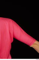 Kyoko clothing pink dress standing whole body 0034.jpg