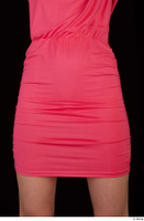 Kyoko clothing pink dress standing whole body 0039.jpg
