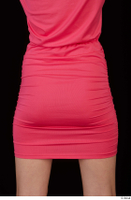 Kyoko clothing pink dress standing whole body 0043.jpg