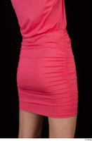 Kyoko clothing pink dress standing whole body 0044.jpg