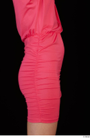Kyoko clothing pink dress standing whole body 0045.jpg