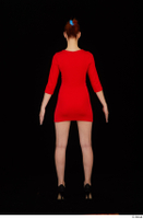 Kyoko clothing red dress standing whole body 0005.jpg