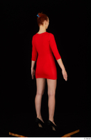 Kyoko clothing red dress standing whole body 0006.jpg