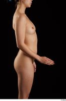 Lady Dee  1 arm flexing nude side view 0002.jpg