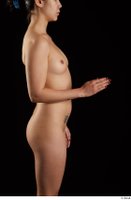 Lady Dee  1 arm flexing nude side view 0003.jpg